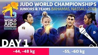 World Judo Championship Juniors 2018: Day 1