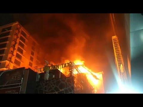 Ινδία: Φονική πυρκαγιά σε κτίριο στη Μουμπάι