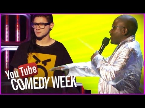 live youtube comedy - Hannibal Buress performs the