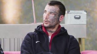 Żeby udowodnić miłość do byłej, oszpecił się tatuażem!