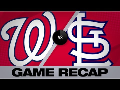 Video: Wainwright, Edman help Cards top Nats, 5-1 | Nationals-Cardinals Game Highlights 9/18/19