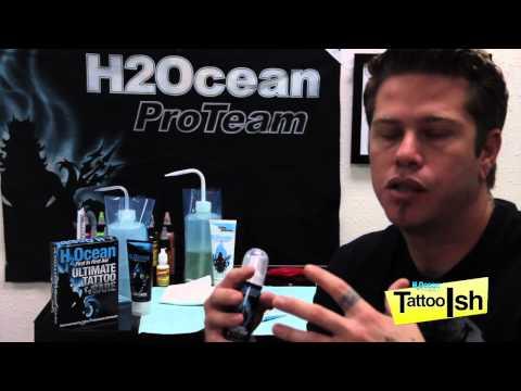 TattooIsh talks about H2Ocean Blue Green Foam soap!