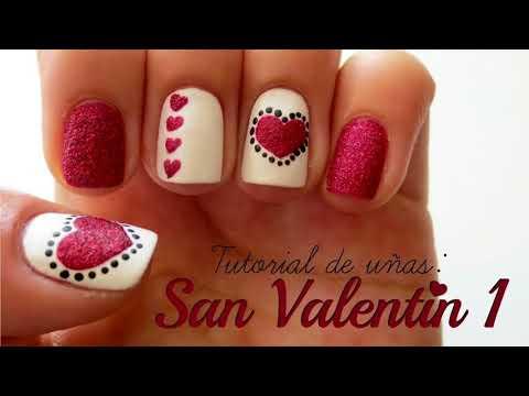 Decoracion De Uñas Acrilicas San Valentin