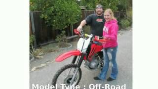 4. 2007 Honda CRF 150F -  Dealers Features Transmission Top Speed motorbike Details Specification