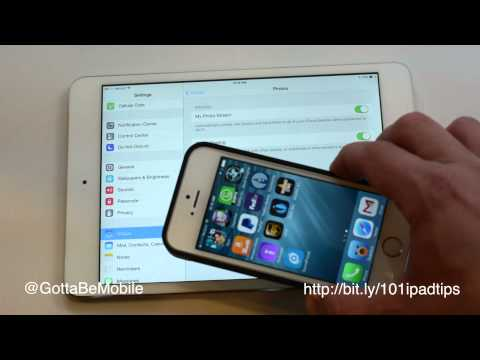How to Sync iPad and iPhone with iCloud
