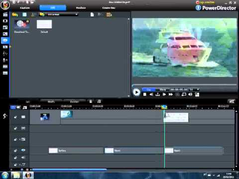 Imagens com mensagens - Vídeo Aula CyberLink PowerDirector - Vídeo De Fotos Com Mensagem
