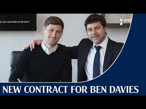 Video: New Contract for Ben Davies