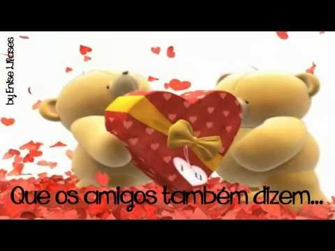 AMO VOCÊ! - Uma mensagem de carinho e amizade (By Enise)