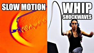 Video How does a whip break the sound barrier? (Slow Motion Shockwave formation) - Smarter Every Day 207 MP3, 3GP, MP4, WEBM, AVI, FLV Januari 2019