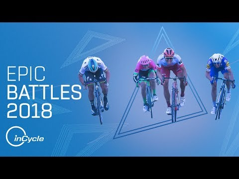 NINE EPIC BATTLES OF 2018   Best Sprint Finishes and Climbs   inCycle