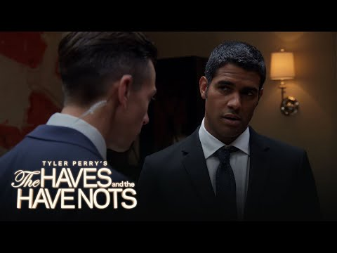 Landon Receives Shocking Intel | Tyler Perry's The Haves and the Have Nots | Oprah Winfrey Network