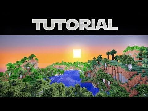 Minecraft 1.7 SHADER Mod mit Optifine installieren (German) ohne Forge (видео)