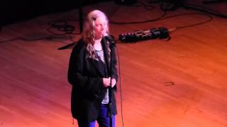 """""""Perfect Day"""" (Lou Reed Cover) live by Patti Smith at Carnegie Hall, March 11, 2014"""