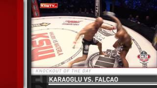 Knockout of the Day: Aziz Karaoglu Upsets Maiquel Falcao at KSW 33 by Fight Network