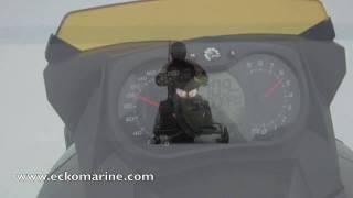 7. 2010 800 e-tec speed test with speedo camera