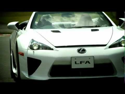 Jay Leno Drives The Rare Lexus LFA Spyder