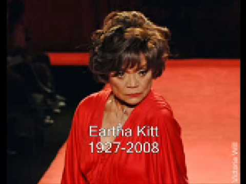 Eartha Kitt Dies. 1927-2008 R.I.P.