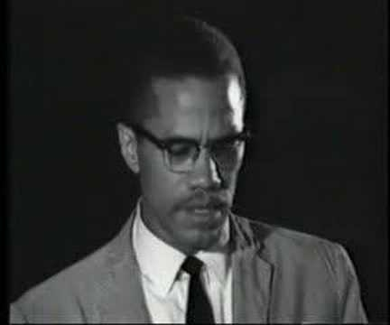 Malik Shabazz (aka Malcom X) By Any Means Necessary
