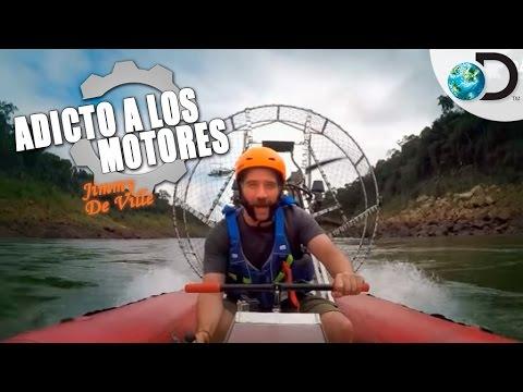 Cataratas del Iguazú escenario del programa  adicto al motor