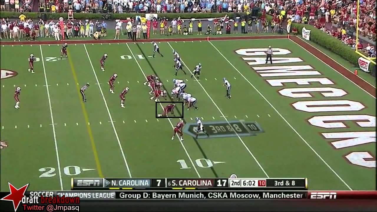Jadeveon Clowney vs UNC (2013)