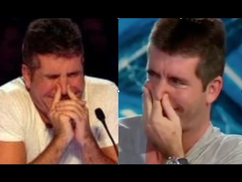 When Judges Can't Stop LAUGHING - Hilarious Auditions Compilation (видео)