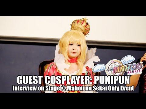 Punipun คอสเพลย์เยอร์สาวจากอินโดนีเซียในงาน Mahou no Sekai Only Event