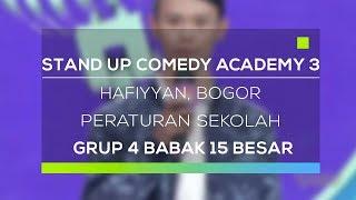 Video Stand Up Comedy Academy 3 : Hafiyyan, Bogor - Peraturan Sekolah MP3, 3GP, MP4, WEBM, AVI, FLV November 2017
