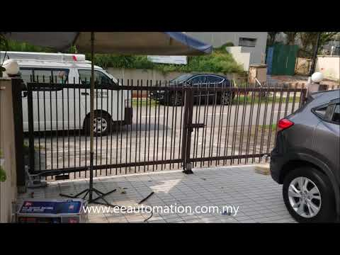 Automatic Gate Malaysia Price – Replacing Old Underground Autogate System