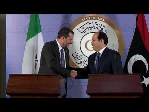 Στη Λιβύη ο Ματέο Σαλβίνι για το μεταναστευτικό