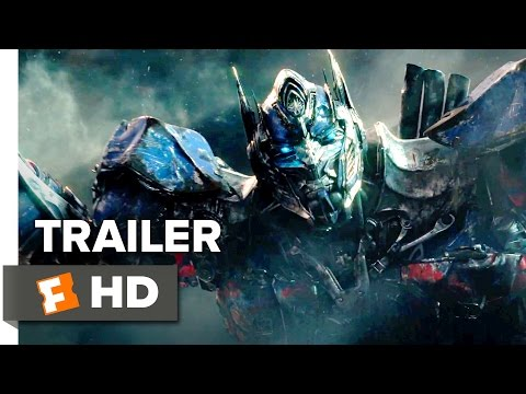 Transformers: The Last Knight Official Trailer 1 (2017) - Michael Bay Movie (видео)