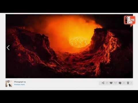 "Photographer Takes Astonishing ""Selfie"" On Edge Of Hawaiian Volcano"