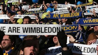 Video How One Club Became Two Enemies | MK Dons & AFC Wimbledon MP3, 3GP, MP4, WEBM, AVI, FLV September 2018