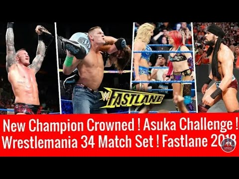 WWE Fastlane 2018 Highlights 11 March 2018 || New Champion  Asuka Challenges