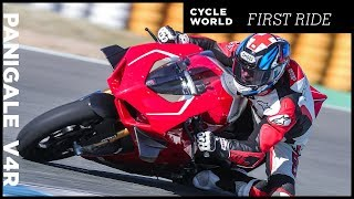 10. 2019 Ducati Panigale V4 R First Ride Review