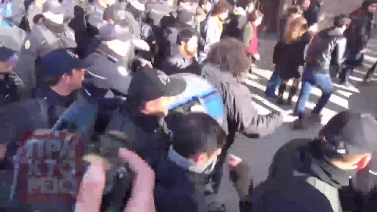 Τουρκία: Ένταση σε συλλαλητήριο για την  απόσυρση νομοσχέδιου για το βιασμό ανηλίκων