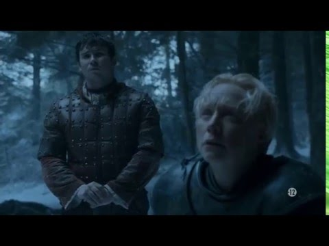 Game of Thrones - Sansa Stark and Theon Greyjoy escape from Winterfell (VOSTFR)