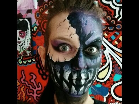 Maquillage monstre galactique! / Galaxy monster makeup!