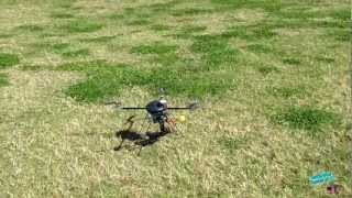 Terry's Turbo Ace X830-D Quadcopter Maiden Flight
