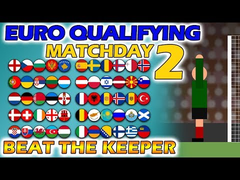 Beat The Keeper - Uefa Euro 2020 Qualifying Matchday 2