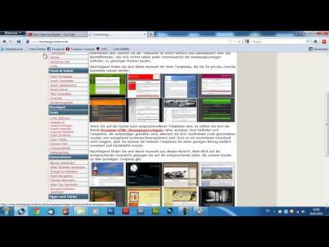 Homepage erstellen und bearbeiten, einfach und kostenlos [Tutorial]