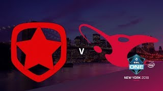 Gambit vs mousesports - ESL One NY 2018 - map2 - de_dust2 [Enkanis, ceh9]