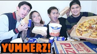 Video S&R MUKBANG with Angel Dei, Miguel and Wowie MP3, 3GP, MP4, WEBM, AVI, FLV Juli 2018