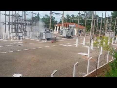 Araputanga - Incêndio na subestação da Cemat