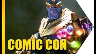 Os colecionáveis e as estátuas da San Diego Comic Con são um show a parte na feira. No primeiro dia do evento já surtamos com esculturas do Hulk, Thanos, Star Wars, Thor e vários outros! Qual é o seu preferido? Deixe nos comentáriosCONHEÇA O SAMSUNG GALAXY TAB S3:http://www.samsung.com.br/tabs3https://omelete.uol.com.br/videos/omele-tv/thanos-o-boneco-mais-incrivel-e-realista-da-comic-con-omeletv/ASSINE O CANAL :) http://youtube.com/omeleteveTwitter: http://www.twitter.com/omeleteFacebook: http://www.facebook.com/siteomelete