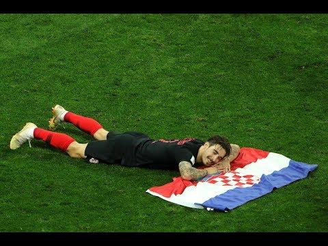 FINAL WHISTLE CROTIA WINNING MOMENTS ....! CROATIA VS ENGLAND 2-1..