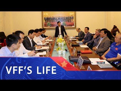 Bộ trưởng Bộ VH-TT-DL Nguyễn Ngọc Thiện làm việc với lãnh đạo VFF | VFF Channel - Thời lượng: 2 phút, 34 giây.