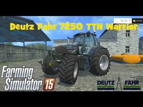 DEUTZ FAHR 7250 TTN WARRIOR v5.0