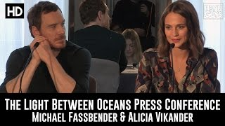 Nonton The Light Between Oceans Press Conference in Full (Michael Fassbender & Alicia Vikander) Film Subtitle Indonesia Streaming Movie Download