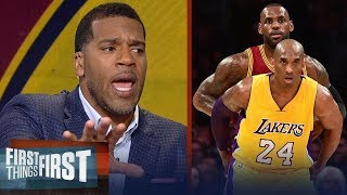 Video Kobe or LeBron: Jim Jackson's unique insight expels the NBA's biggest myth | FIRST THINGS FIRST MP3, 3GP, MP4, WEBM, AVI, FLV Agustus 2018