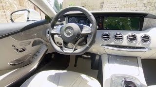 2015 Mercedes S-Class Coupe INTERIOR (designo diamond white bright)